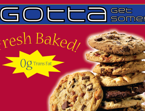 POS Cookie Dangler Retail