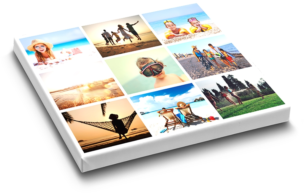 Printing of large canvas