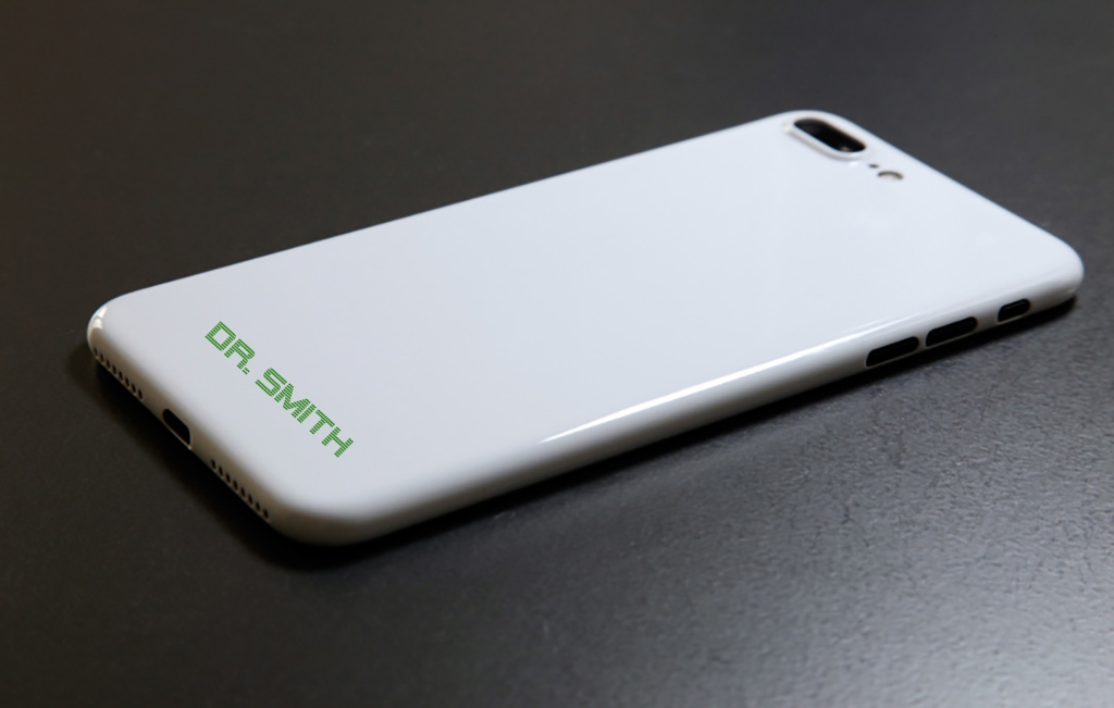 Custom designed and printed I phone case