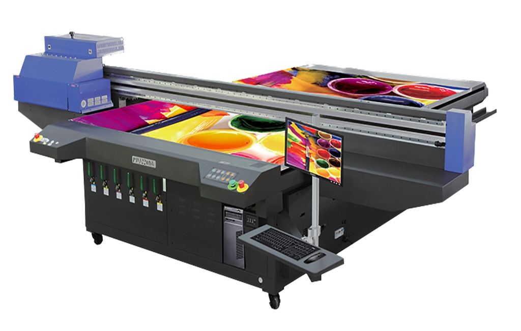 Image of Flat bed color printer
