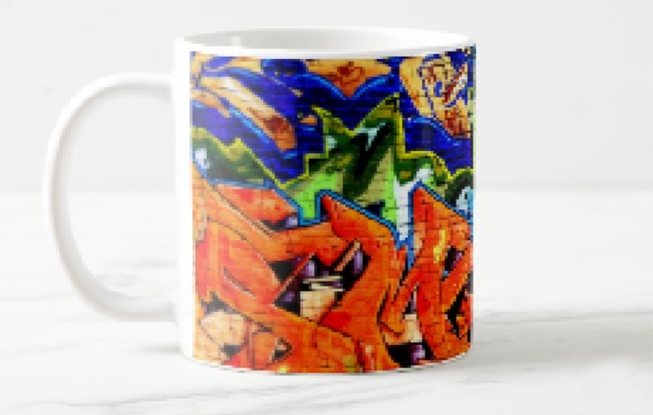 Printed color promotional mug